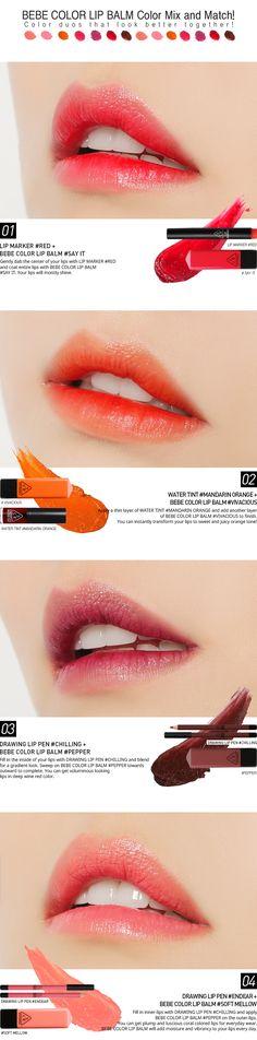 51 Trendy makeup looks asian lip colors Cute Makeup, Lip Makeup, Beauty Makeup, Makeup Looks, Prom Makeup, Korea Makeup, Asian Makeup, Makeup Inspo, Makeup Inspiration