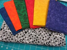 choosing fabric for the Project QUILTILNG Square in a Square Challenge - Marcia of Marcia's Crafty Sewing & Quilting