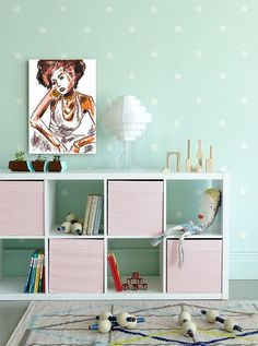 There are so many ways upcycle IKEA Kid's furniture, so think again before you give that old LACK table or KALLAX unit the boot. Ikea Kids Furniture, Furniture Design, Pink Furniture, Furniture Outlet, Luxury Furniture, Interior Modern, Interior Design, Half Painted Walls, Ikea Hack