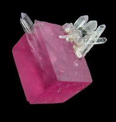 Rhodochrosite with Quartz from Sweet Home Mine, Colorado²