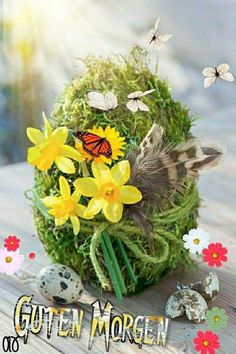 Goeie More, Good Morning Greetings, Happy Easter, Good Night, Special Day, Beautiful Flowers, Comic, May 1, Animaux