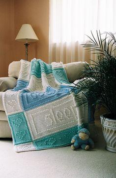 Ravelry: PRAYER baby blanket by Jody Pyott