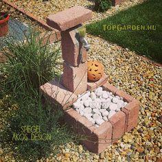 * Csináld magad kertépítés *: Kertépítés ötletek, megoldások Firewood, Stepping Stones, Garden Design, Texture, Outdoor Decor, Crafts, Vintage, Porches, Home Decor