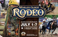 Worlds Oldest Rodeo in Prescott, AZ
