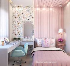 20 Ideas For Bedroom Diy Adult Design Room Design Bedroom, Girl Bedroom Designs, Room Ideas Bedroom, Home Room Design, Small Room Bedroom, Girls Bedroom, Bedroom Decor, Bedrooms, Cute Room Decor