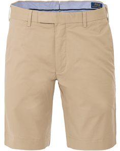 Polo Ralph Lauren Slim Fit Hudson Stretch Shorts Classic Khaki i gruppen Shorts / Chinosshorts hos Care of Carl (13633811r)
