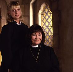 verger in vicar of dibley - Google Search