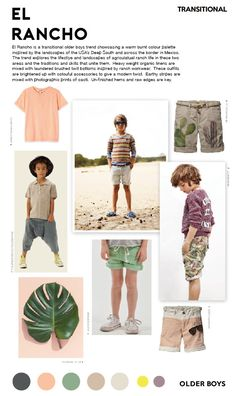 Spring | Summer 2017 - El Rancho Trend - Older Boys