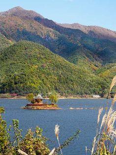 Fuji Five Lakes, Yamanashi Prefecture, Japan.