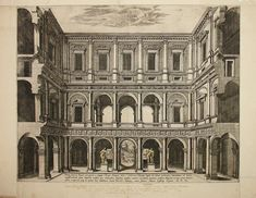 Farnese Palace engraving