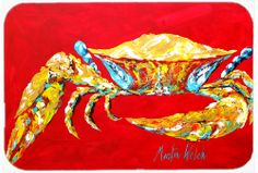 the-store.com - Crab Blue on Red, Sr. Glass Cutting Board Large MW1116LCB, $29.99 (http://the-store.com/products/crab-blue-on-red-sr-glass-cutting-board-large-mw1116lcb.html)