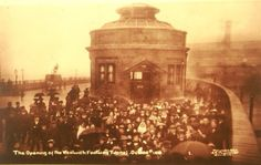 Opening of Woolwich Foot Tunnel 1912