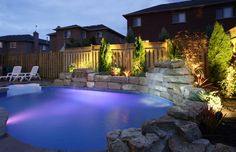 Landscaping Ideas for Around Your Pool - Santa Knows Best Pool Installation, In Ground Pools, Backyard Landscaping, Backyard Pools, Landscaping Ideas, Backyard Ideas, Garden Ideas, Outdoor Pool, Outdoor Ideas