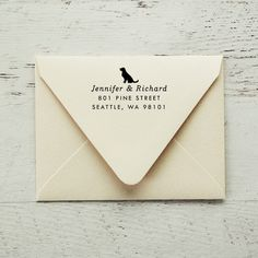 Self Inking Return Address Stamp, Dog Address Stamp, Return Address Stamp, Gifts for Dog Lovers, Dog Stamp, Personalized Stamp - Style #66 by packagery on Etsy https://www.etsy.com/listing/493581785/self-inking-return-address-stamp-dog