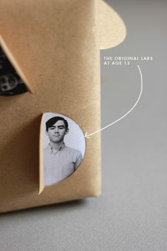 Father's Day gift wrap - The House That Lars Built Creative Gift Wrapping, Creative Gifts, Cool Gifts, Wrapping Gifts, Wrapping Ideas, Gift Wraping, Christmas Wrapping, Christmas Presents, Gift Packaging
