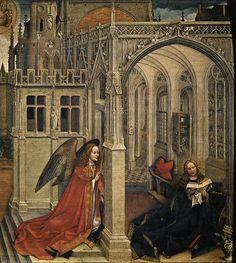 1420-1425 | Robert Campin (Mestre de Flémalle) | Museo del Prado.