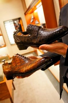 Alligator shoes by Zegna