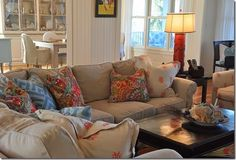 mismatched sofa and loveseat - Google Search