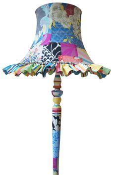 Blue Standard Lamp. A little wild for me, but still cute.