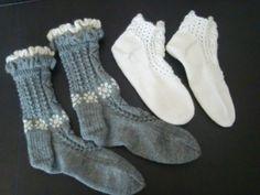 Sokker strikket i april 2016. Gaver. Mittens, Socks, Fashion, Fingerless Mitts, Moda, La Mode, Fingerless Mittens, Sock, Fasion