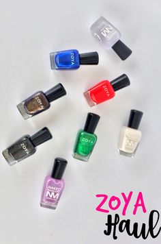 Zoya Haul #beauty #bbloggers #nails #nailpolish #zoya #beautyhaul #everydayzoya