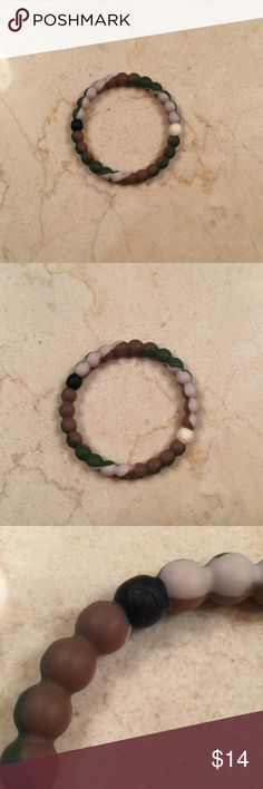 Camouflage Lokai bracelet This bracelet is 100% authentic and has no signs of wear.  Cannot be found online anymore. Lokai Jewelry Bracelets