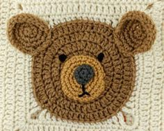 Lion Tiger and Bear Crochet Blanket Pattern