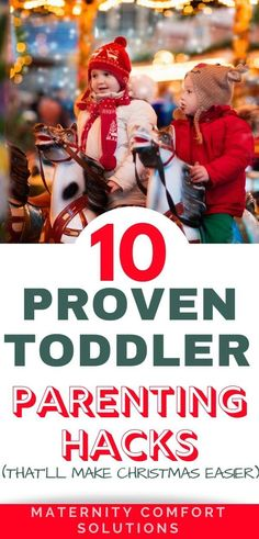 Toddler parenting tips that'll make Christmas easier! Parenting toddlers is tough! We have put together a list of our best tips for parenting and helping toddlers develop confidence, empathy, focus, and self-control. Easy Christmas Treats, Toddler Christmas Gifts, Christmas Crafts For Toddlers, Crafts For Kids, Parenting Toddlers, Parenting Hacks, Toddler Behavior, 2 Year Olds, Toddler Meals