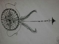 Desenhos Minnie, Compass Tattoo, Tattoos, Beautiful, Art, Snow, Pink, Photos, Art Background