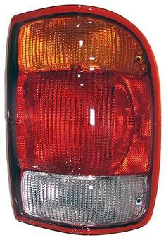 Taillight Tail Light Lamp Ford Ranger Left Driver Side 98 99 Dorman 1610242 #Dorman