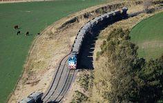ferrocarriles del sud: LA CARGA TOTAL TRANSPORTADA POR FERROCARRIL AUMENT...