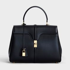 ee321908cbf8dc Celine Medium 16 Bag Celine Purse, Hermes Purse, Celine Handbags, Black  Handbags,