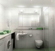 Small Bathroom With Washing Machine : Best Small Simple Bathroom Design Ideas With Shower Stone Flooring And Small Bathroom With Washing Machine. bathroom,machine,small,washing,with Neutral Small Bathrooms, Tiny Bathrooms, Amazing Bathrooms, Laundry Room Bathroom, Laundry Room Design, Bathroom Layout, Bathroom Ideas, Bathroom Remodeling, Remodel Bathroom