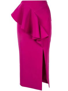 Rachel Gilbert Arden Skirt - Purple Stylish Formal Skirts for Women To Wear To Office Rachel Gilbert, African Fashion Dresses, African Dress, Sexy Skirt, Dress Skirt, Peplum Skirts, Look Fashion, Fashion Outfits, Ankara Skirt