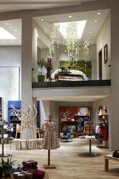 Retail Design | Store Interiors | Shop Design | Visual Merchandising | Retail Store Interior Design |Anthropologie NYC ThirdAvenue