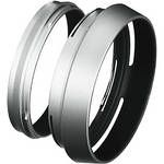 Fujifilm LH-X100 Lens Hood with Adapter Ring for the X100 Camera (Silver)