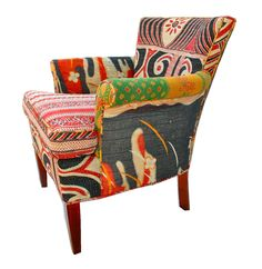 A wildly colorful chair ♥