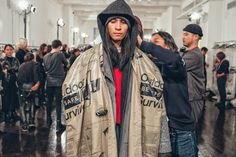 #STATELESSNESS / Here's a Backstage Look at N.HOOLYWOOD's 2017 Fall/Winter Collection