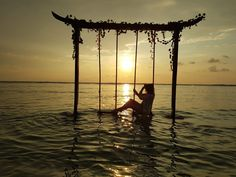 Bali  Gili T  Gili Islands  Romantic Sunset