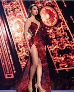 Catriona Elisa Magnayon Gray - Philippines - Miss Universe 2018 Elegant Dresses, Sexy Dresses, Cute Dresses, Beautiful Dresses, Evening Dresses, Prom Dresses, Grey Fashion, Look Fashion, Miss Universe Gowns