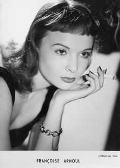 Françoise Arnoul Cinema, Portraits, Glamour, Actresses, French, Black And White, Stars, People, Fashion