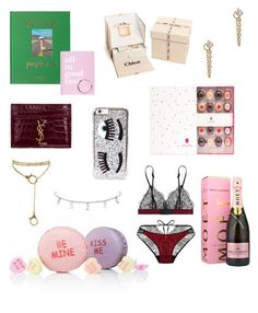 """Untitled #1008"" by abbygbrewer on Polyvore featuring Kate Spade, Chiara Ferragni, Catbird, Yves Saint Laurent, Chloé and Moët & Chandon"