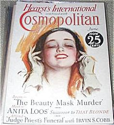 $71 COSMOPOLITAN MAGAZINE FOR JUNE 1930. COVER ILLUSTRATION BY HARRISON FISHER