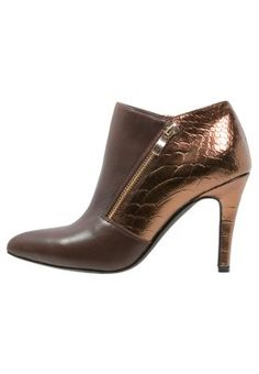 BABKA - Ankle boot - choco/bronze