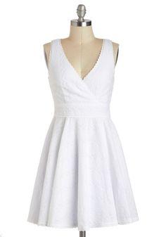 41d90a4efd1 Eyelet in the Sun Sleeveless Top. Cute White DressWhite ...