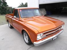1967 Chevrolet C10 Short Bed Pickup,
