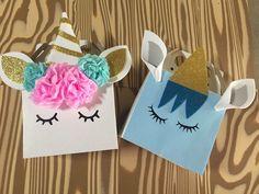 Unicorn girl & boy candy bags