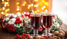 Smoothie Drinks, Smoothies, Snow Party, Mulled Wine, Christmas Tea, Wine Cheese, Appetisers, Greek Recipes, Food Design