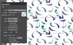 This tutorial shows how you can quickly and easily create, control and manipulate half drop patterns in Adobe Illustrator CS6 using the new pattern making fe...