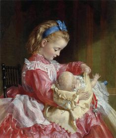 Attributed to Sophie Anderson (1823-1903)